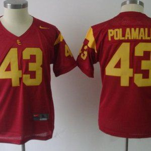 Youth USC Trojans 43 Troy Polamalu Jersey